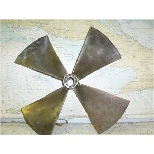 "Boaters' Resale Shop of TX 1611 2425.01 BOW THRUSTER PROP 12.25RH12 FOR 1"" SHAFT"