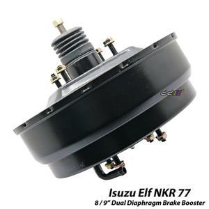 "8/9"" Dual Diaphragm Brake Booster Servo Fits Isuzu Elf N Series NKR77 02-07"