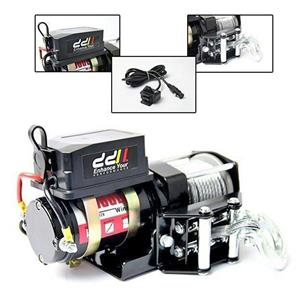 12V 3000LBS 1360KG Heavy Duty Electric Winch Steel Cable ATV 4x4 Truck Car Boat