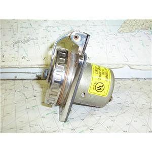 Boaters' Resale Shop of TX 1612 0425.01 HUBBELL 231A 50 AMP 125/250 VOLT INLET