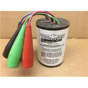 Radionic Co. Inc. Universal Adjustable Ultramet Capacitor for AC Applications