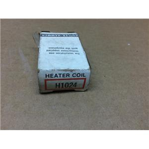 Cutler-Hammer H1024 Heater Coil Overload Thermal Unit