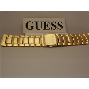 Guess Watch Bracelet G11638G Gold Tone 24mm Wide Original Watchband.