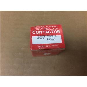Trine General Purpose Fully Insulated Contactor 307 Make & Break