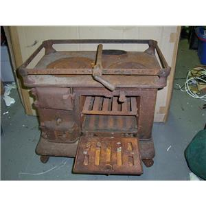 Boaters' Resale Shop of TX 1612 0254.01 SHIPMATE SOLID FUEL STOVE & OVEN