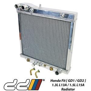 Honda Fit Jazz GD1 GD2 01-08 1.3L 1.5L Fits DD Racing Full Aluminium Radiator