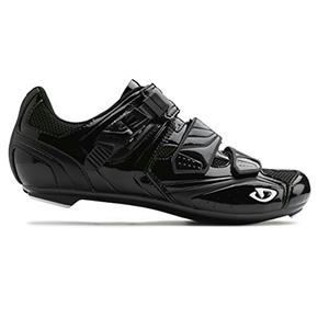Giro Men's Apeckx Cycling Shoes Solid Black - 42 EU 8.75 US - 3 Bolt