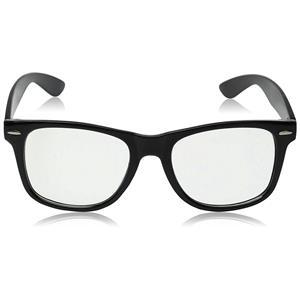 High Quality Retro Nerd Dork Fashion Glasses Black Frame Clear Lens Buddy Clark