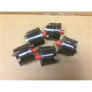 (Lot of 5) Klixon Controls BYJ-34-KB
