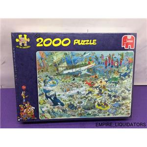 NEW / SEALED Jan Van Haasteren Deep Sea Fun Jigsaw Puzzle (2000 pieces) -A