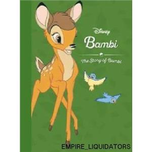 HARDCOVER BOOK - Disney Bambi: The Story of Bambi [Book]