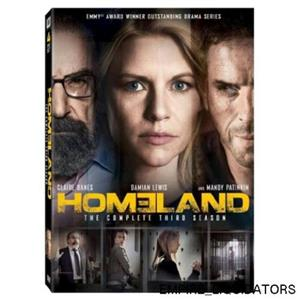 BRAND NEW - Homeland: The Complete Third Season (Widescreen) DVD 616 MINS/COLOR