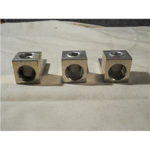 (Lot of 3) Mechanical Lugs 600MCM-4 A600 CU9AL