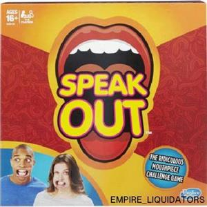 BRAND NEW - HASBRO Speak Out Game - Ages 16 and up (4-5 players) - NOT USED