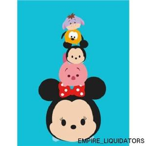 "BRAND NEW - Disney 46"" X 60"" Tsum Tsum Throw Blanket - With Tags"