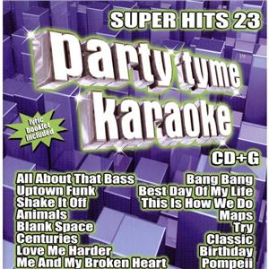 BRAND NEW / SEALED - Party Tyme Karaoke: Super Hits 23 / Various Audio CD