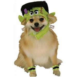 Frankenstein Mini Monster Pet Costume Size Large