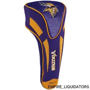 BRAND NEW - Team Golf Minnesota Vikings Single Apex Driver Head Cover