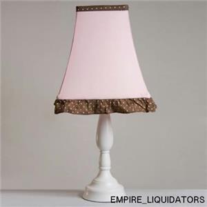 UNUSED Pam Grace Creations LS-Petal Pam's Petals Pink Lamp Shade