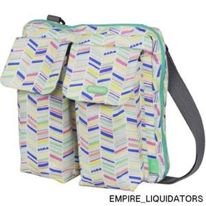 NEW WITH TAGS - iPack Baby Mini Diaper Bag MODEL HB01917 MULTI COLOR