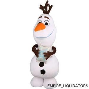 Holiday Time Disney 12480 24 inch Christmas Olaf Plush Greeter w/ Tags