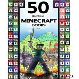 Minecraft: 50 Unofficial Minecraft Books in 1 BY BILLY MINOR {PAPERBACK BOOK}