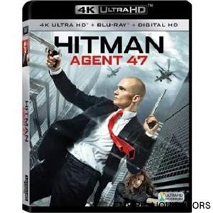 SEALED BRAND NEW - Hitman: Agent 47 [4K Ultra HD Blu-ray/blu-ray] RATED R