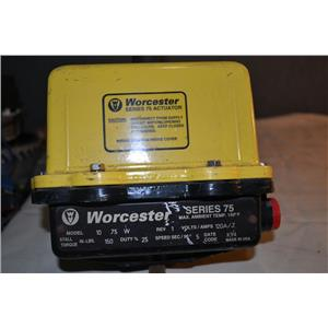 Worcester Motorized Valve Actuator Series 75 Model 10