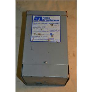 ACME GENERAL PURPOSE TRANSFORMER T-2-53010-S 240/480 HV 120/240 LV 1.0 KVA