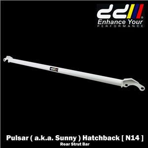 2 Point Rear Strut Brace Bar For Nissan Pulsar Sunny N14 3 Door Hatchback 90-96