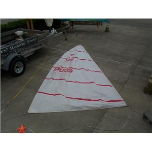 IRA Snipe Class Mainsail w 16-6 Luff Boaters' Resale Shop of TX 1702 1142.92