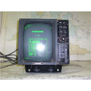 Boaters Resale Shop of TX 1702 4101.24 FURUNO FR-802D RADAR DISPLAY ONLY