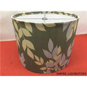 "Lolli Living 9"" FLORAL Lamp Shade - Gray/Floral"