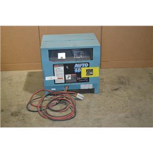 YUASA CTN-12-450 24v 450 AH Forklift Battery Charger 208-240/480V, 12 Cell
