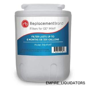 Brand New - ReplacementBrand GE MWF Comparable Refrigerator Water Filter (White)