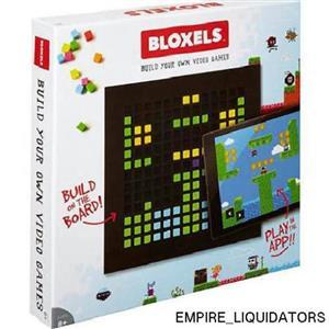 Sealed BLOXELS - Video Game Builder (Ages 8+) Model FFB15