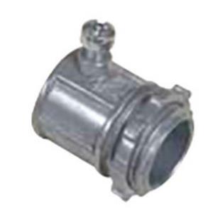"(Box of 25) Topaz 635, 1-1/2"" Zinc EMT Set Screw Connector"