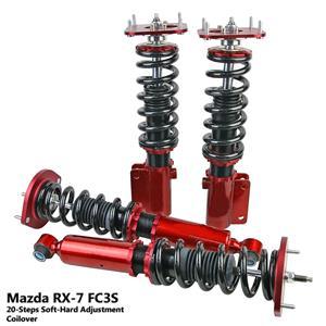 20 Step Racing Adjustable Coilover Shock Suspension - Mazda RX7 RX-7 FC3S 85-91