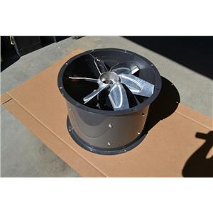 """Dayton 24"""" Tubeaxial Fan, Motor HP 1, Voltage 200 to 230/460, 3 Phase, 4TM85"""