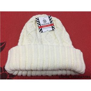 Women's isotoner Casual Ivory Knit Hat w/ Tags
