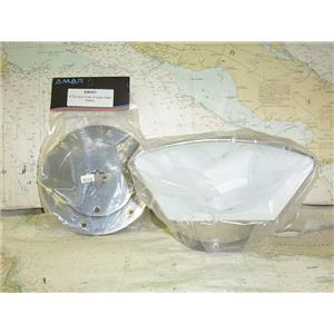 "Boaters' Resale Shop of TX 1702 1454.05 AMAR 4"" COWL VENT & 6362SD DECK PLATE"
