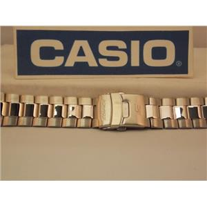Casio Watch Band EMA-100 D Bracelet Edifice Tide Graph All Steel Watchband