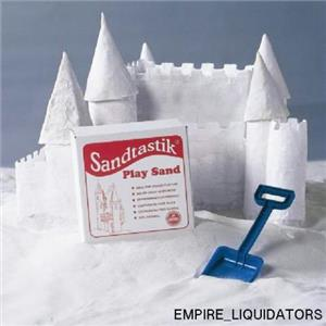 SEALED - Sandtastik White Sandbox Sand-25 lbs. - PLA25LBBOX