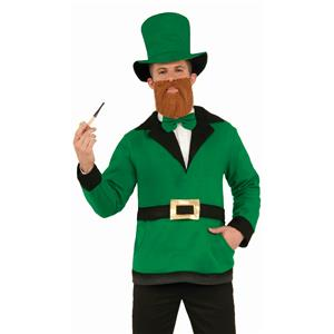 Forum Novelties Adult Leprechaun Pullover Hat Bow Tie Costume Accessory Set