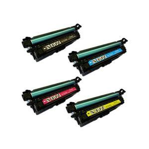 Laserjet Toner Set 4 Color Pack Compatible High Yield - HP ENT500/507X/CE403A