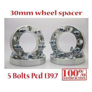(4) 30MM PCD 5X139.7 to 5x5.5 M12x1.5 CB108 WHEEL SPACERS ADAPTER SPACER SUZUKI