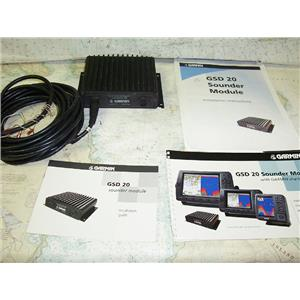 Boaters' Resale Shop of TX 1702 1742.04 GARMIN GSD 20 SOUNDER MODULE & MANUALS