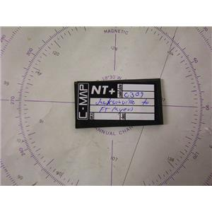 Boaters' Resale Shop of TX 1701 2775.05 C-MAP NT+ NA-C309 HANDWRITTEN CHART ONLY