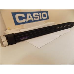 Casio Watch Band GLS-5600 L-1V One Piece Black G-Lide Strap w/Metal Eyelets.23mm