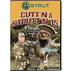 BRAND NEW - Hunter's Specialties Cutt'N and Strutt'n 15 DVD